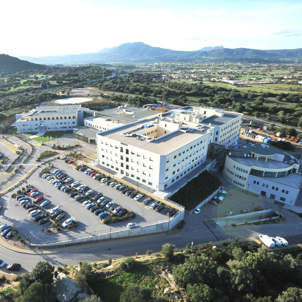 Progettazione e Direzione Lavori Nuovo Ospedale Civile Giovanni Paolo II, Olbia (Italia)