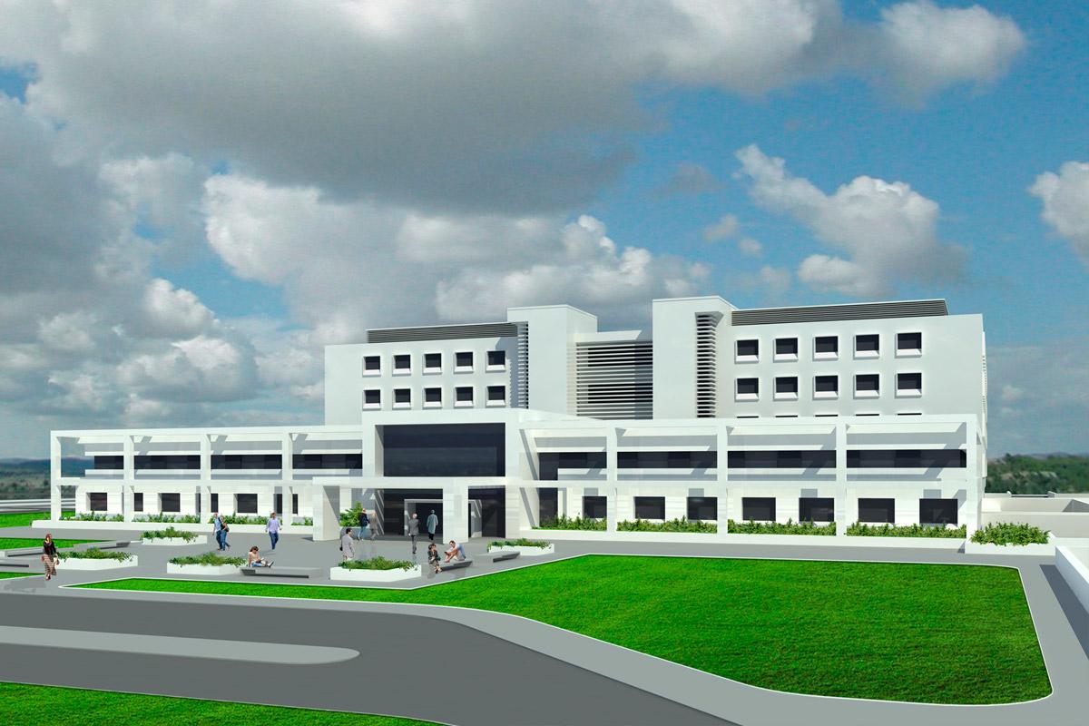 Nuovo Ospedale di San Gavino Monreale (Italia)