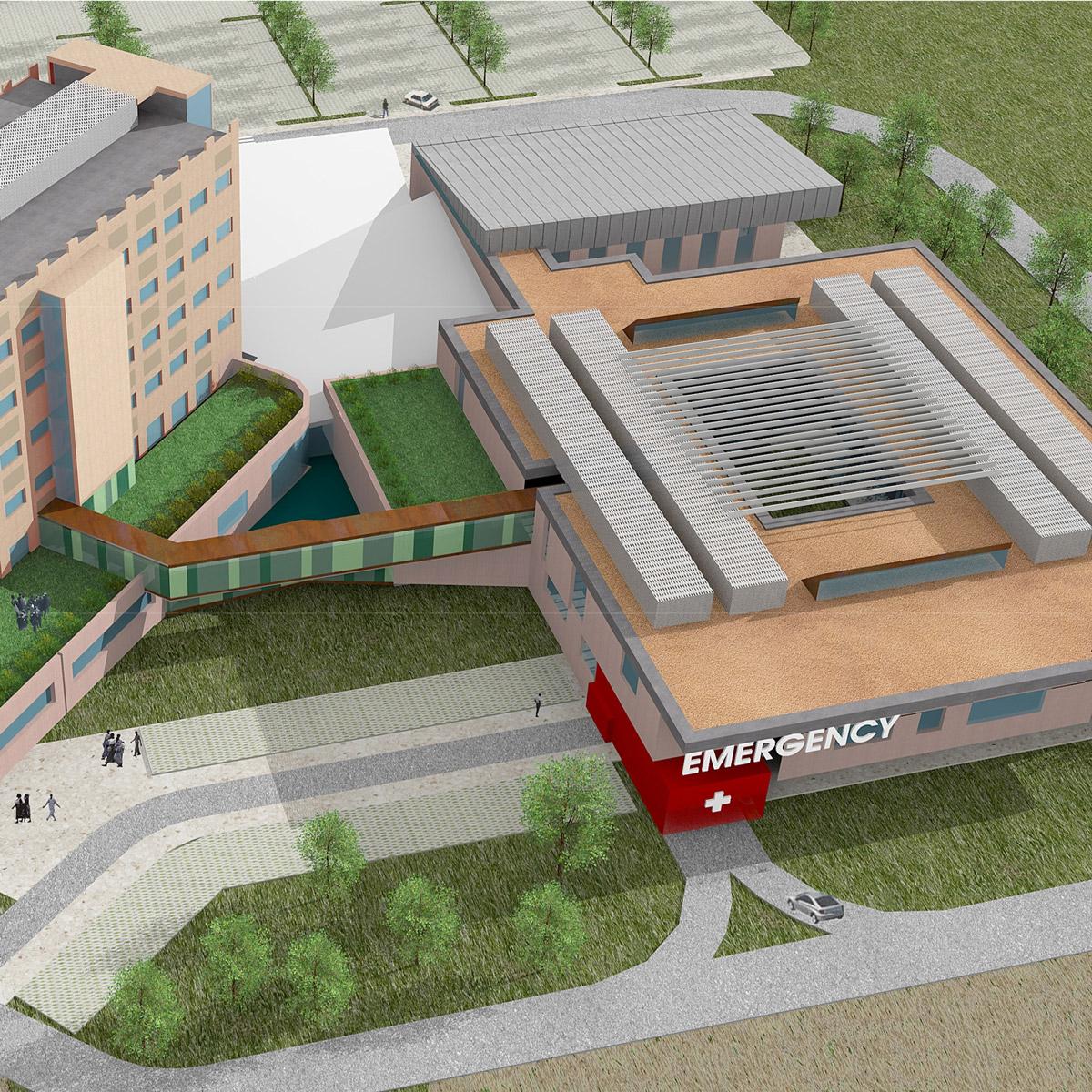 Nuovo Ospedale di Abuja, (Nigeria)