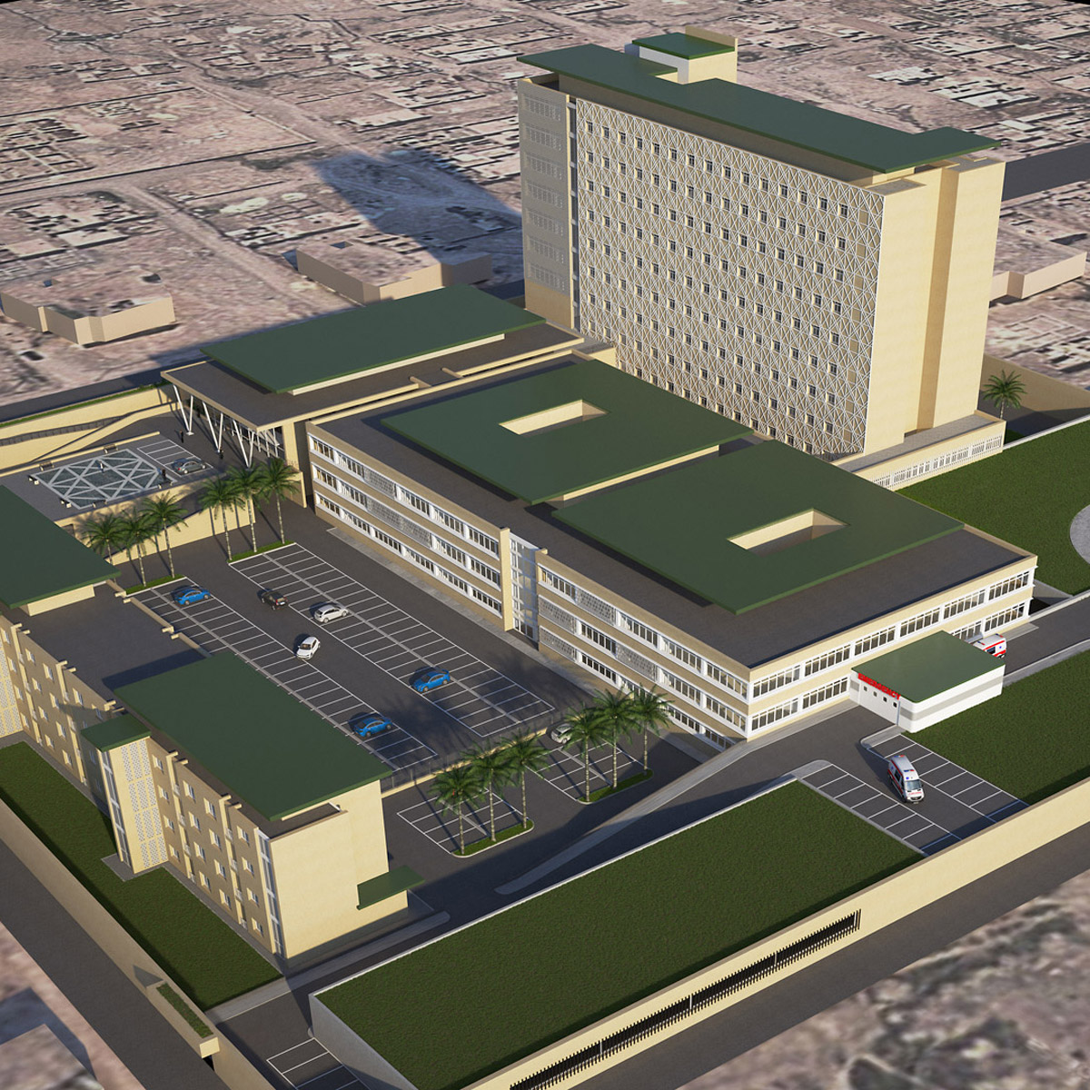 Nuovo Ospedale di Al Rifa'aee, Nassiriya (Iraq)