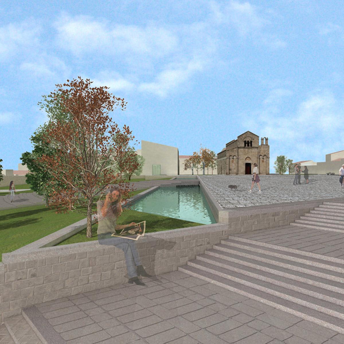 Riqualificazione del Centro Urbano, Urban Center, Olbia (Italia)