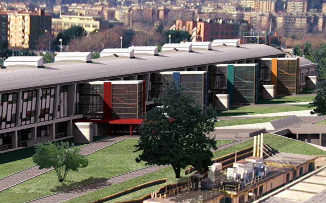 Università degli Studi Roma Tre – Ex Vasca navale – Ristrutturazione e ampliamento II Lotto, Roma (Italia)