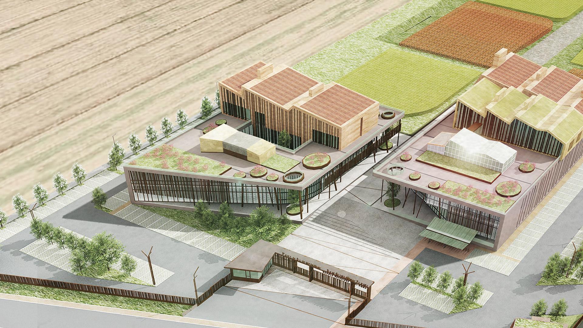 Parco Scientifico Tecnologico Scuola Superiore Sant'Anna – Lotto I e II, San Giuliano Terme, PI (Italia)